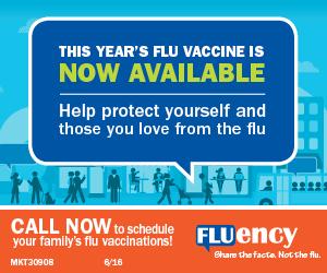 Flu season banner